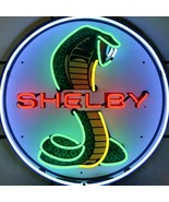 Shelby Neon Sign Auto Muscle Car 24 Inch Man Cave Business Home Decor New  - $315.80
