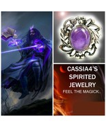 Haunted RING DARKEST NIGHT VAMPIRE WIZARD SPIRIT VESSEL AMETHYST WITCH C... - $99.77