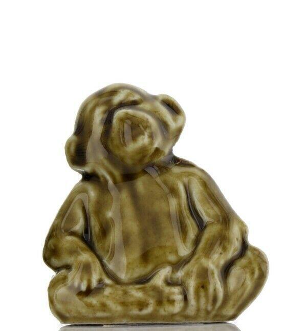 Whimsies Porcelain Figurine Miniatures by Wade Chimpanzee Monkey