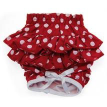 Ruffled Red Polka Dot Dog Panties - $19.99