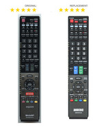 NEW SHARP Aquos HDTV Remote Control Replacement for 600153E00-579-G & MANY MORE! - $14.99