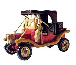 Panda Superstore Retro Vintage Car Model To Do The Old Wooden Crafts - $38.20