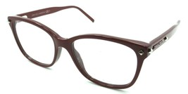 Jimmy Choo Rx Eyeglasses Frames JC 162 C18 53-17-140 Burgundy Made in Italy - $78.79