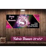 "Jewelry Five Bucks Fun Fashion Banner -30""x72"" (9 oz. Wrinkle Free) Fabr... - $34.29"