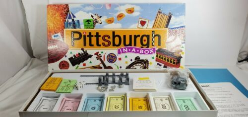 Primary image for Pittsburg PA In A Box Family Board Game