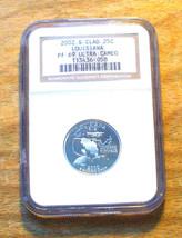 2002-S NGC - Proof 69  State Quarter ULTRA CAMEO - LOUISIANA - $19.95