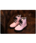 Girls pink ankle boots kids fashion boots children's snow boots high qu... - $49.99+