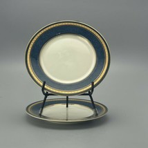 2 Mikasa Imperial Lapis Salad Plate Plates 7.5 Inch - $14.75