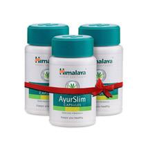 3 x 60 Himalaya AyurSlim Capsules Weight Management Naturally new stock - $15.82