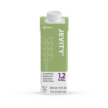 Jevity 1.2 Cal with Fiber Nutritional Supplement 8 oz. Cartons (2 Cases)... - $73.55
