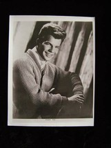 Bobby Vee 8x10 black & white Glossy Photo Vintage Promo - $16.99