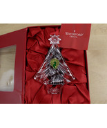 Waterford Crystal 2012 Annual Christmas Tree Ornament Artist Signed Jim ... - $21.77