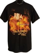 "Tim McGraw Concert T-Shirt Mens Size M Tour 2001 ""Set This Circus Down"" ... - $17.67"