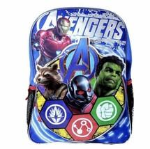 """Marvel Avengers Kids Backpack - 16"""" Blue - $17.81"""