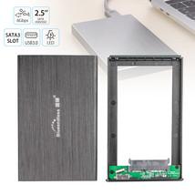 """External Backup Hard Drive Case 2TB USB 3.0 Enclosure 2.5"""" HDD Sata SSD - $19.30"""