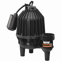 Sewage Pump, Submersible, Thermoplastic, 1/2-HP - $266.30