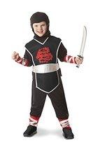 Melissa & Doug Ninja Role Play Costume Set (4 pcs) - Tunic, Pants, Hood, Soft Sw - $39.99