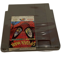 SPIDER-MAN Return of the Sinister Six - Original Nintendo NES Cartridge - $13.81