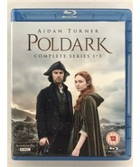 Poldark Series 1 - 3 [Blu-Ray] [Region B/2] NEW - $19.99