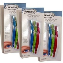 Personna Eyebrow Shaper For Men And Women - 3 Ea Pack of 3