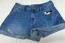 Old Navy Womens Booty Short Shorts Blue Jean Denim Size 2 Regular  - $16.51