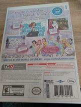 Nintendo Wii uDraw Disney Princess: Enchanting Storybooks ~ COMPLETE image 4