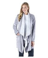 Sleepyheads Women's Sleepwear Fleece Wrap Robe with (Small/Medium|Purple) - $31.93