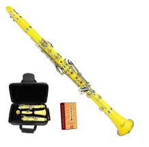 Merano New Bb Yellow Clarinet with Case and Extra 10 Reeds - $86.99