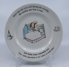 """Wedgwood Peter Rabbit Frederic Warne&co Bread & Butter 7"""" 17.8 cm Plate England image 8"""