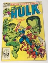 Vintage The Incredible Hulk Vol.1 No. 284 June 1983 Marvel Comics Group - $12.14