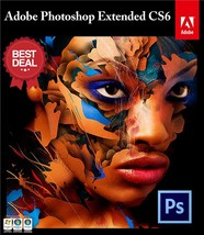 ADOBE PHOTOSHOP CS6 Extended Version - Digital Download - Only 1 Per Cus... - $50.00