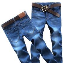 Fashion Jeans 2018 Fashion Men Denim Pants Cotton Trouser Jean Men's Long Pant - $24.48