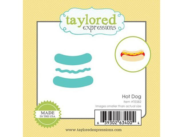 Taylored Expressions Hot Dog Die Set #TE582