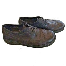 Dr. Martens Mens Berkshire Brogue Wingtip Chocolate Brown Oxford Wingtips Shoes - $29.99