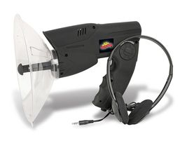 Parabolic Microphone Spy Listening Device Bionic Ear Sound Amplifier Gadget - $34.95