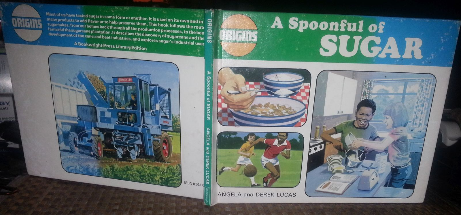 A Spoonful of Sugar by Angela Lucas 1983 HB Origins