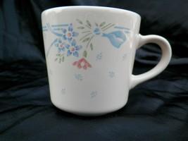 Corning Corelle Symphony Coffee Tea Mug Cup Blue Pink Green Sandstone Beige - $17.95
