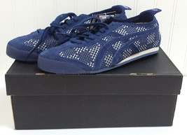 New Asics Onitsuka Tiger MEXICO 66 D3S0N 5050 Navy White Sneakers US 8 E... - $193.01