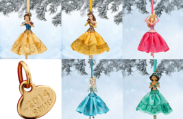 Disney Store Princess Ball Gown Christmas Ornament New for 2014 - $44.95