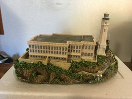 Alcatraz Island Lighthouse Sculpture by Danbury Mint - mint in box - $20.00