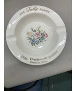 Vintage Crookston MN The Sally Shoppe Gifts Hobbies Dresdencraft Ashtray... - $24.99