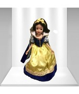 Disney Princess Snow White Porcelain Girl Doll - $20.29
