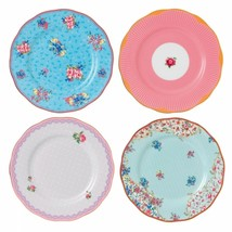 Royal Albert Candy Plates, Set Of 4 New In The Box - $89.09