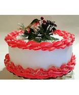 "Dezicakes Large Christmas Cake Display 9"" Faux Cake- Fake for Home Decor - €30,41 EUR"