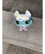 Littlest Pet Shop~#3235~Husky~Puppy Dog~Blue White~Sprinkles~#3236~Ball ... - $16.83