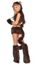 Brown Monkey Animal Costume Sexy Women Halloween Christmas Party Wear - $42.09