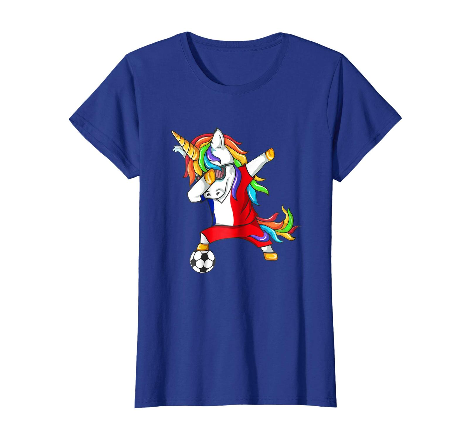 New Shirts - Dabbing Soccer 2018 Unicorn France T-Shirt Wowen
