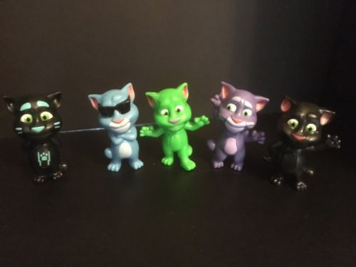Mcdonalds Talking Tom Cats Happy Meal Toys And 50 Similar Items