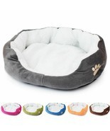 Cute Soft Cat Dog Bed Warm Cotton Pet Products Mini Puppy Soft Comfortab... - £20.92 GBP
