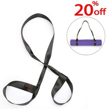 Yoga Mat Strap Perfect Sling - Wisedom Durable Yoga Mat Carrier Strap wi... - $166,56 MXN